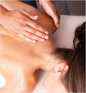 Physiotherapy massage